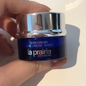 New La Prairie Skin Caviar Luxe Cream Sheer 5ml